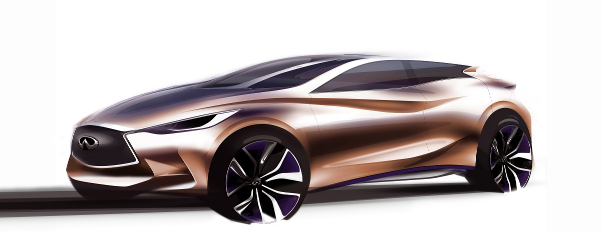 Ent Of Infiniti Motor Company Ltd In Our Quest To Eal The Modern Young Minded Premium Customer Q30 Concept Has A Distinctive