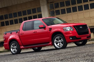 2008 Ford Sport Trac Adrenalin Preview | NADAguides