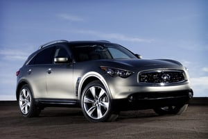 All New For 2009 Infiniti Has Completely Redesigned Its 5 Penger Fx Suv The Slots Comfortably Between Smaller Ex35 And