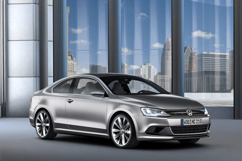 Volkswagen New Compact Coupe Concept