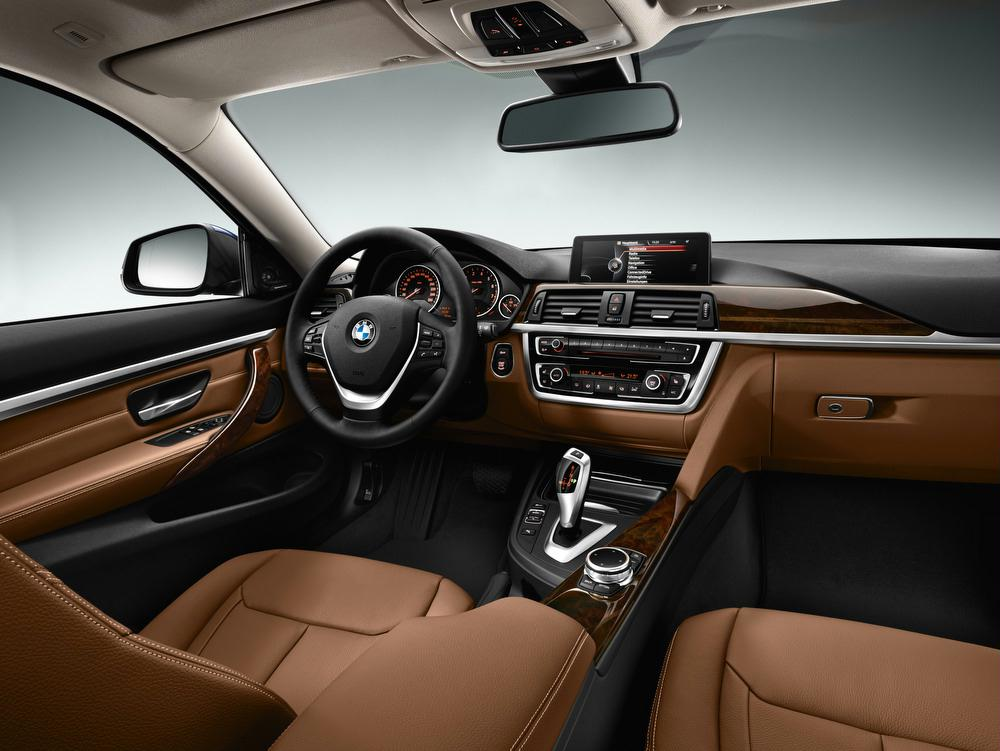 Interior Features Inside The 2014 BMW 4 Series Coupe