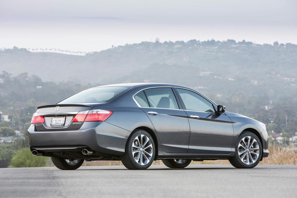 Under The Hood. All Versions Of The 2013 Honda Accord ...