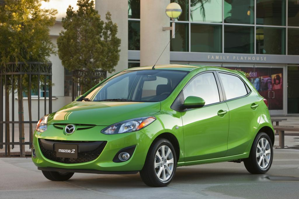 The Mazda 2 Is Automaker S Entry In First Car Market A Budget Priced Hatchback That Shares Platform With Another Newcomer To U