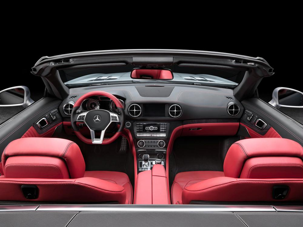Interior Features. The New 2013 Mercedes SL550 ...