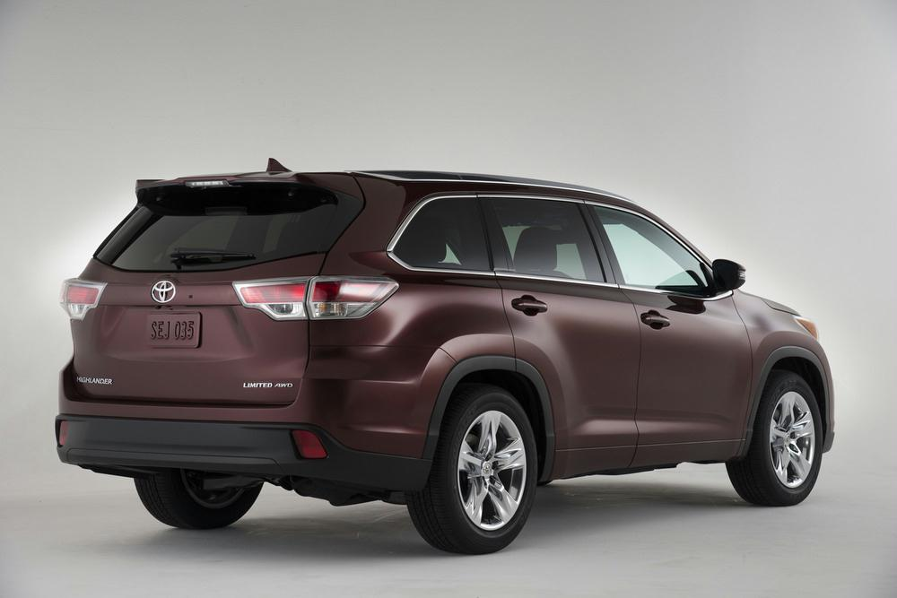 Exterior Features. Key 2014 Highlander ...