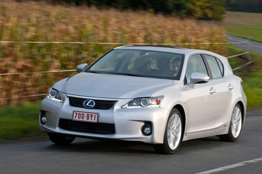 Awesome Exterior Features. The 2013 Lexus CT 200h ...