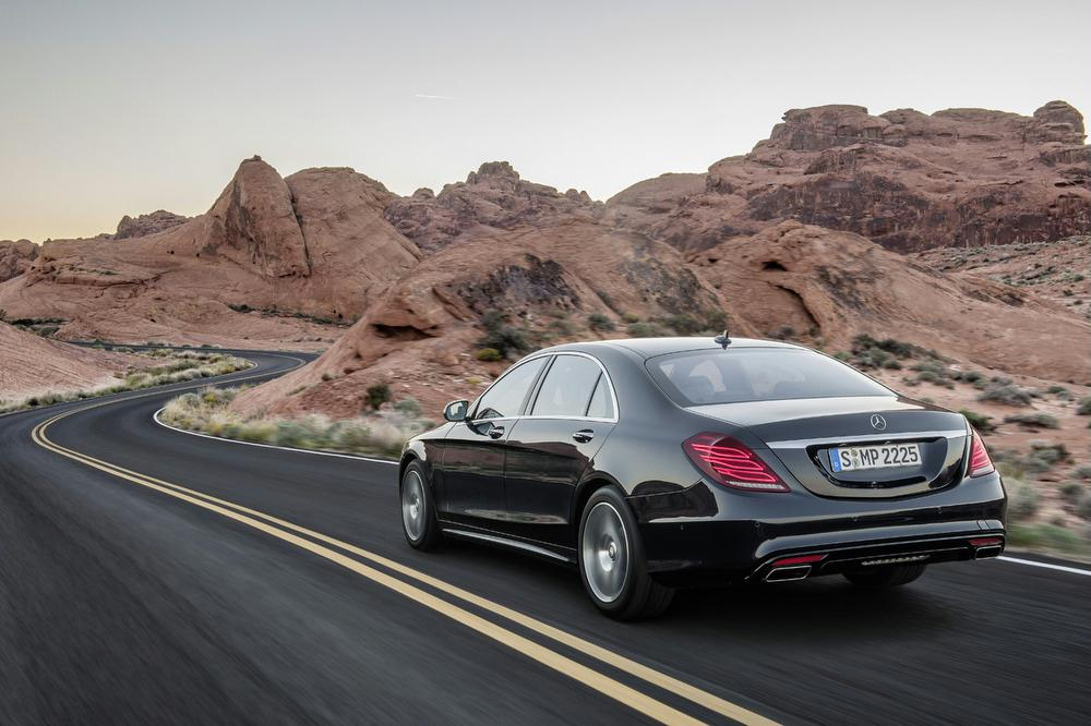 Under The Hood. The 2014 Mercedes Benz S550 ...