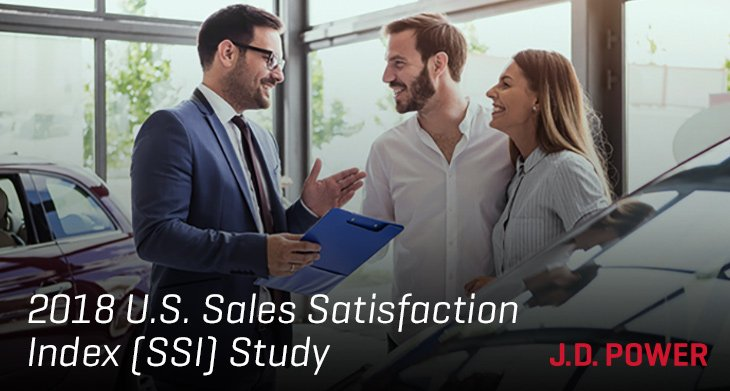 2018 U.S. Sales Satisfaction Index (SSI) Study Results