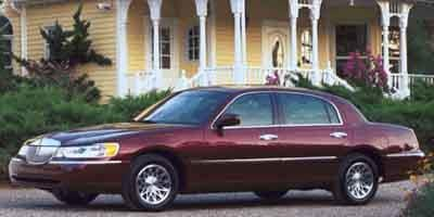 2001 Lincoln Town Car Values Nadaguides