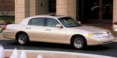 2002 Lincoln Town Car Values Nadaguides
