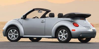 New Beetle 4 Cyl 5 Spd Convertible 2d Gl