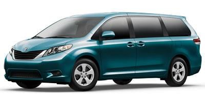 2012 Toyota Sienna 5dr 8-Pass Van I4 LE FWD