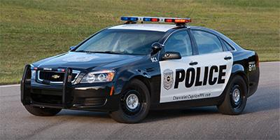 2015 Chevrolet Caprice Police Patrol Vehicle