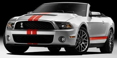 Ford Mustang Convertible 2011 Convertible 2D Shelby GT500
