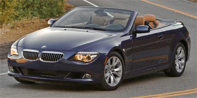 2010 BMW 6 Series Convertible 2D 650i