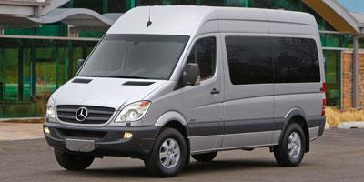 2012 Mercedes-Benz Sprinter Passenger Vans Prices and Values Extended Passenger Van High Roof