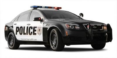 2011 Chevrolet Caprice Police Patrol Vehicle Sedan 4D Police