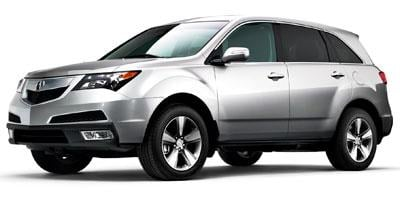 2012 Acura MDX Prices and Values Utility 4D Technology DVD AWD