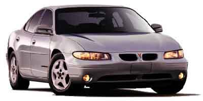 2002 Pontiac Grand Prix Prices and Values Sedan 4D SE