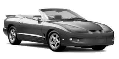 2002 Pontiac Firebird Prices and Values Coupe 2D