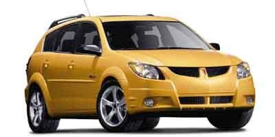 2003 Pontiac Vibe Prices and Values Wagon 4D