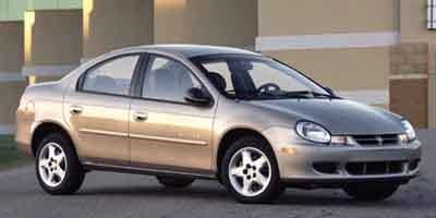 2002 Dodge Neon Prices and Values Sedan 4D SE
