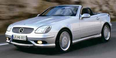 2002 Mercedes-Benz SLK-Class Prices and Values Roadster SLK32 AMG Supercharged