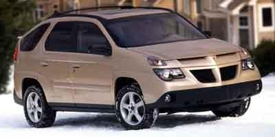 2003 Pontiac Aztek Prices and Values Utility 4D 2WD