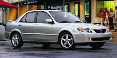 2002 Mazda Protege Prices and Values Sedan 4D LX