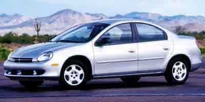 2000 Dodge Neon Prices and Values Sedan 4D ES