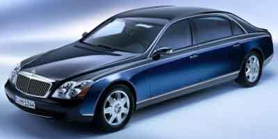 2004 Maybach 62 Prices and Values 4 Door Sedan
