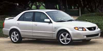2003 Mazda Protege Prices and Values Sedan 4D DX