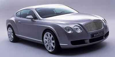 2004 Bentley Continental Prices and Values GT 2 Door Coupe