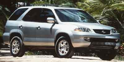 2001 Acura MDX Prices and Values Utility 4D 4WD