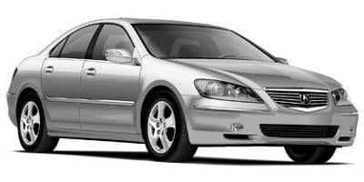 2005 Acura RL Prices and Values Sedan 4D AWD