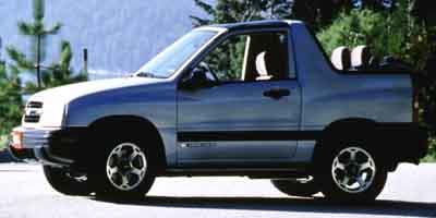2001 chevrolet tracker convertible 2d 2wd specs and performance