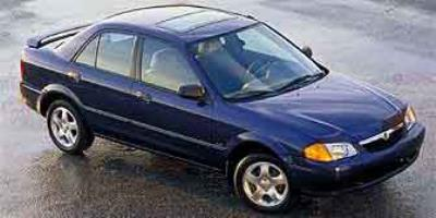 2001 Mazda Protege Prices and Values Sedan 4D MP3