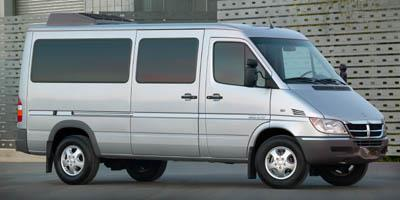 2006 Dodge Sprinter Wagon Prices and Values Passenger Van 140