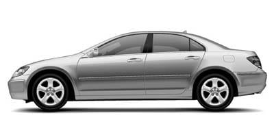 2006 Acura RL Prices and Values Sedan 4D Navigation AWD