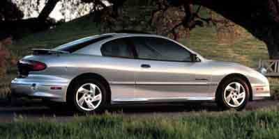 2001 Pontiac Sunfire Prices and Values Coupe 2D