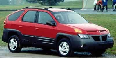 2001 Pontiac Aztek Prices and Values Utility 4D 2WD