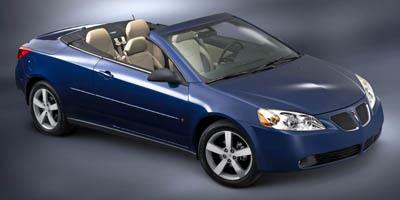 2007 Pontiac G6 Prices and Values Convertible 2D GT