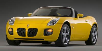 2007 Pontiac Solstice Prices and Values Roadster 2D GXP