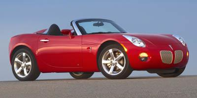 2007 Pontiac Solstice Prices and Values Roadster 2D