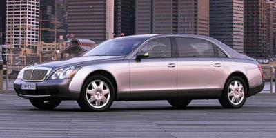 2007 Maybach 62 Prices and Values 4 Door Sedan