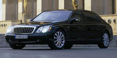 2007 Maybach 62S Prices and Values 4 Door Sedan