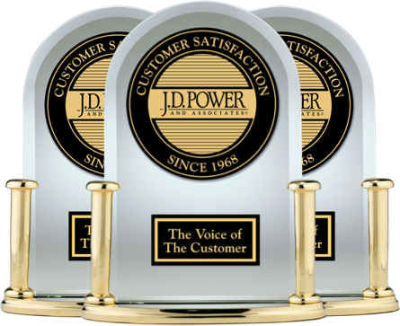 J.D. Power Award Trophy