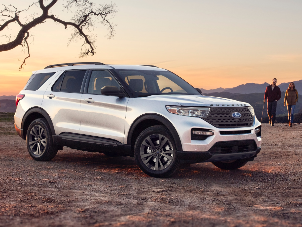 2021 The Ford Explorer Exterior