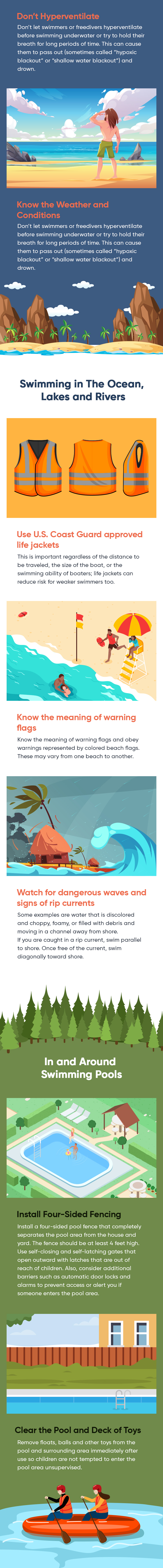 How to prevent unintentional drownings